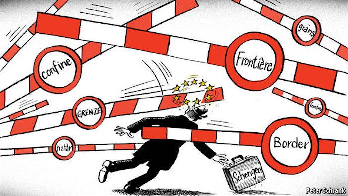 Les frontières appartiennent au pas sé. Ne démantelez pas Schengen!
