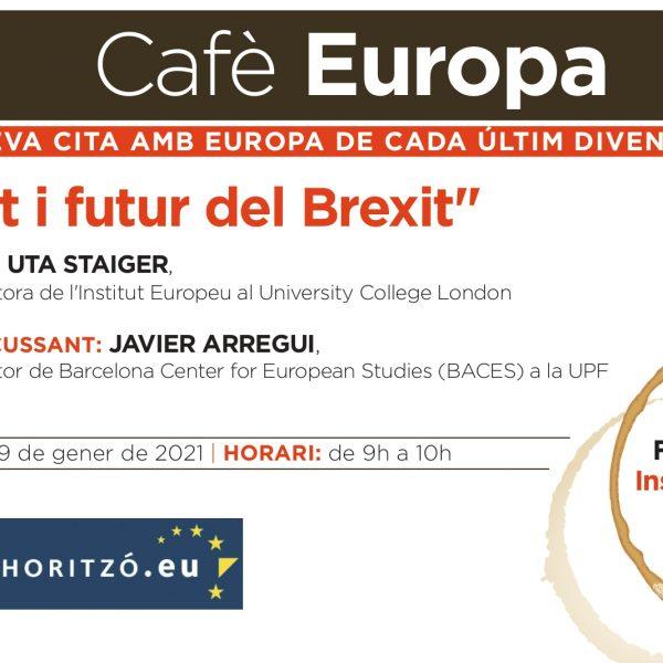 Targetó invitació de Cafè Europa