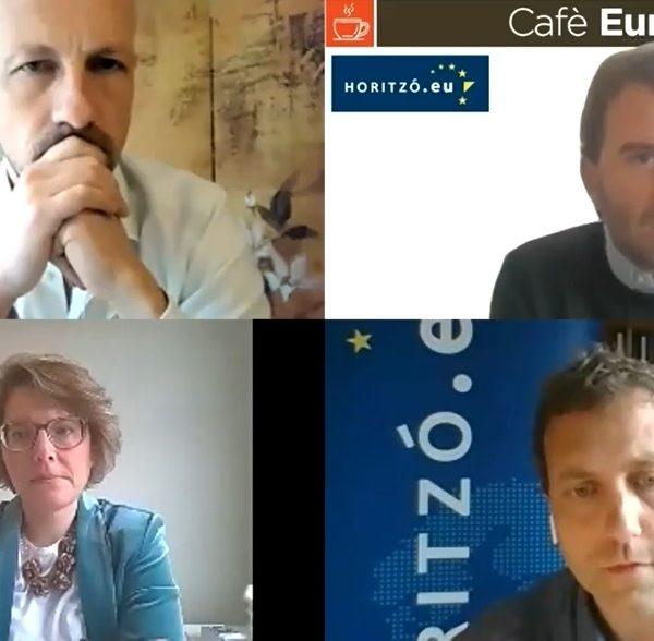 """Cafè Europa: """"Un salari mínim a al UE?"""", amb Marc Botenga i Isabel Yglesias"""